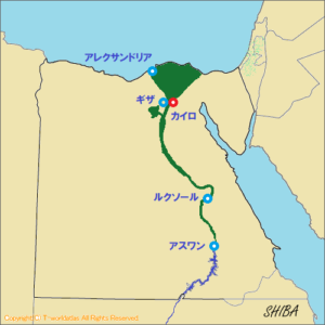 エジプトの都市