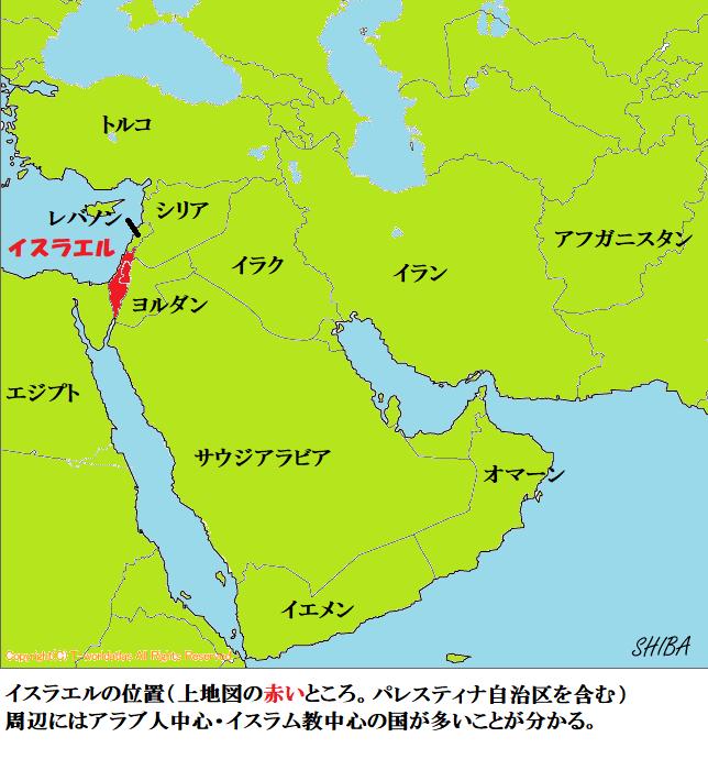 中東とイスラエル
