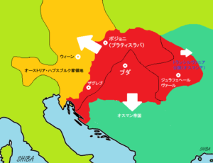ハンガリー3分割