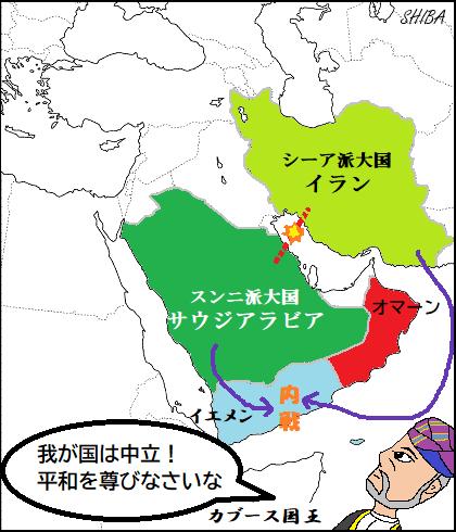 イエメン内戦とオマーン