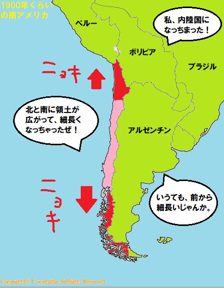 チリ成長期