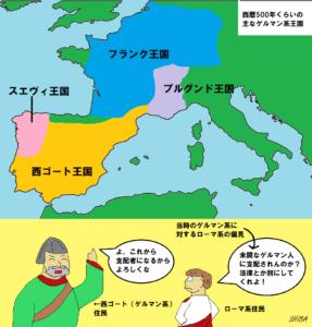 西ゴートとスエヴィ王国