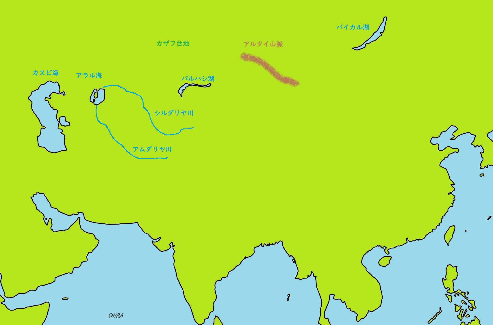 中央アジアの自然